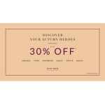 Wallis: up to 30% off women's clothing
