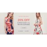Wallis: 20% off dresses & petite clothing