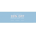 Wallis: 20% off dresses and tops