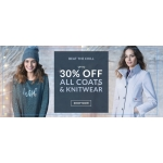 Wallis: up to 30% off coats & knitwear