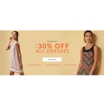 Wallis: up to 30% off all dresses