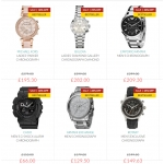 Watch Shop: sale up to 50% off watches