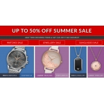 Watch Shop: Summer Sale up to 50% off watches, jewellery and sunglasses