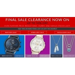Watch Shop: Final Sale up to 50% off watches, jewellery and sunglasses