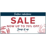 Weird Fish: Sale up to 70% off women's and men's clothing