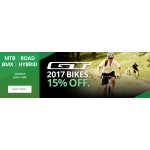 Wheelies: 15% off GT Bikes - MTB, Road, BMX, Hybrid