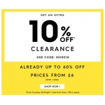 Woolovers: extra 10% off clearance products