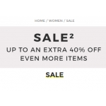 Yoox: up to an extra 40% off many items