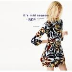 Zara: mid-season sale up to 50% off