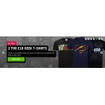 Zavvi: 2 Geek DC, Marvel, Star Wars & other T-Shirts for £18