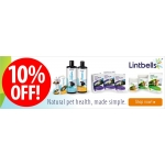 Zooplus: 10% off lintbells supplements