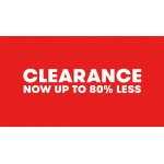 TK Maxx: Clearance up to 80% less