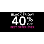 Black Friday Claire's: 40% off