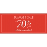 Artigiano: Summer Sale up to 70% off for Italian Fashion and Elegant Clothing