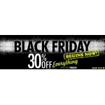 Black Friday Bargain Crazy: 30% off everything