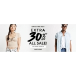 Forever 21: 30% off women and mens collections