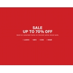 H&M: sale up to 70% off