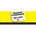 Select: massive clearance up to 80% off