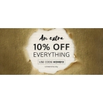 World Stores: an extra 10% off everything