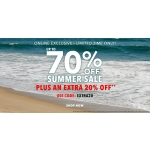 Forever 21: summer sale up to 70%