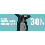 House of Fraser: up to 30% off women, men, kids, home and furniture