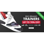 M and M Direct: up to 70% off big brand trainers