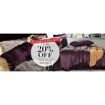 Lily Silk: up to 20% off silk bed linen sets