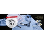 Lily Silk: 30% off men's dress shirt