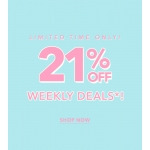 Forever 21: Sale 21% off clothing