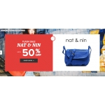Sarenza: Sale up to 50% off Nat&Nin bags