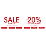 TReds: at least 20% off womens, mens and kids clothing