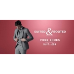 Burton: free shoes if you buy a suit from £99