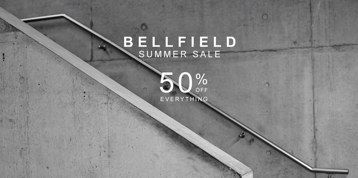 Bellfield: Sale 50% off everything